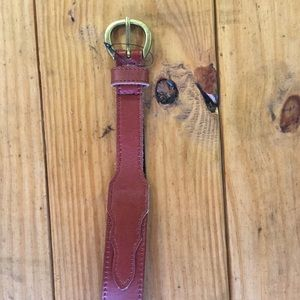 New Urban Outfitters Tapered Western Leather Belt